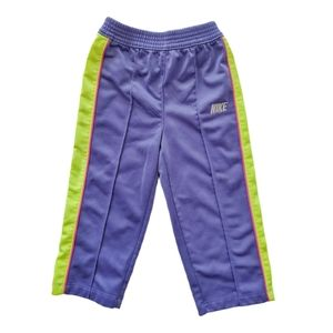 Nike Purple Straight Leg Track Sweatpants 24 M